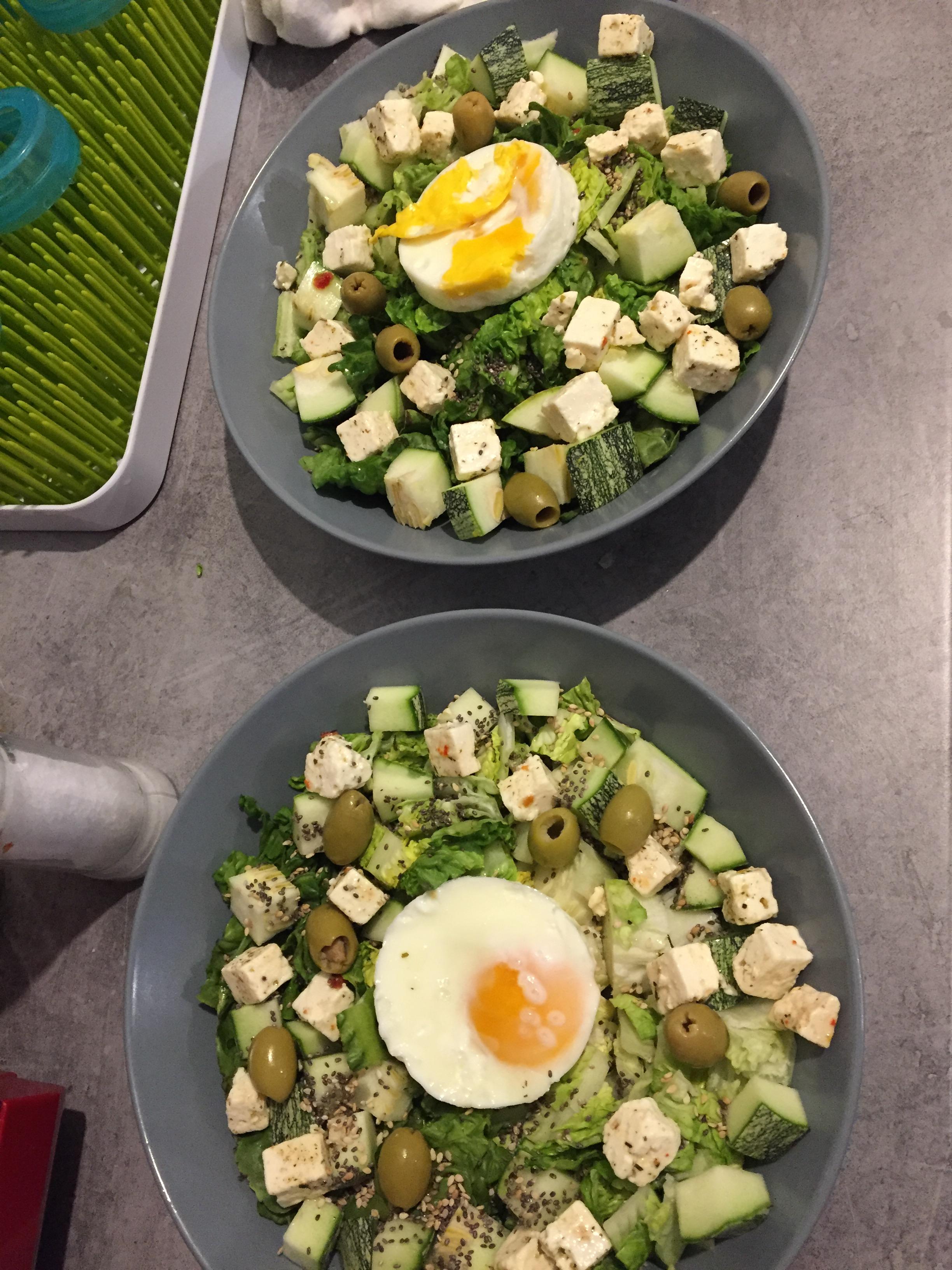 Mes salades d'été