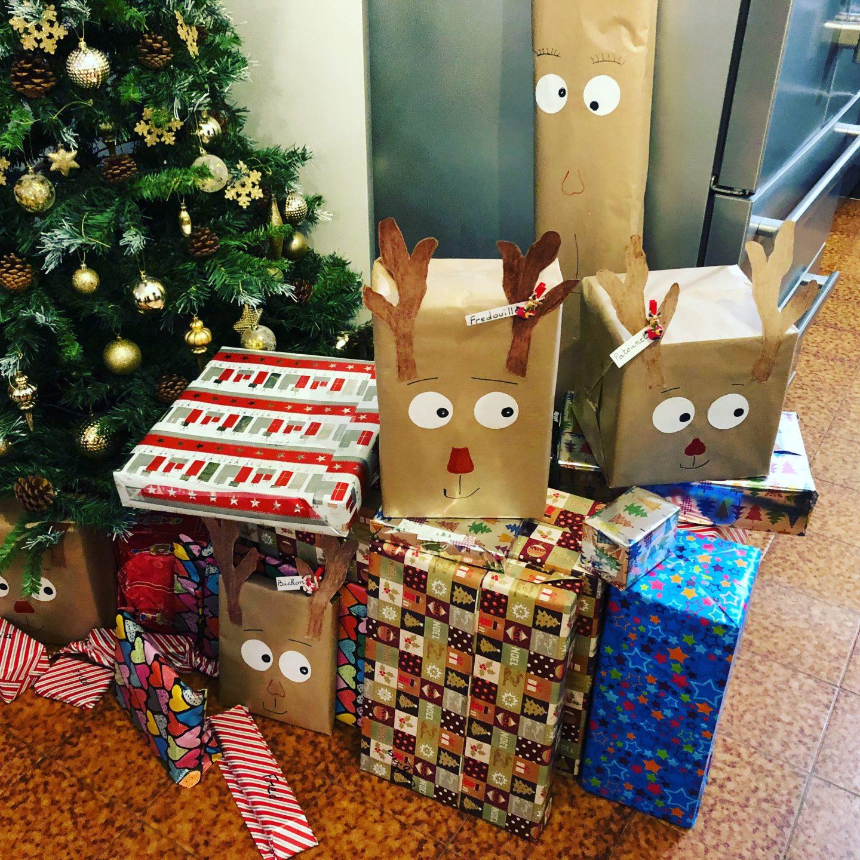 La liste au père Noël de l'enfant