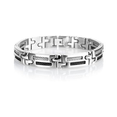 bracelet-acier-cable