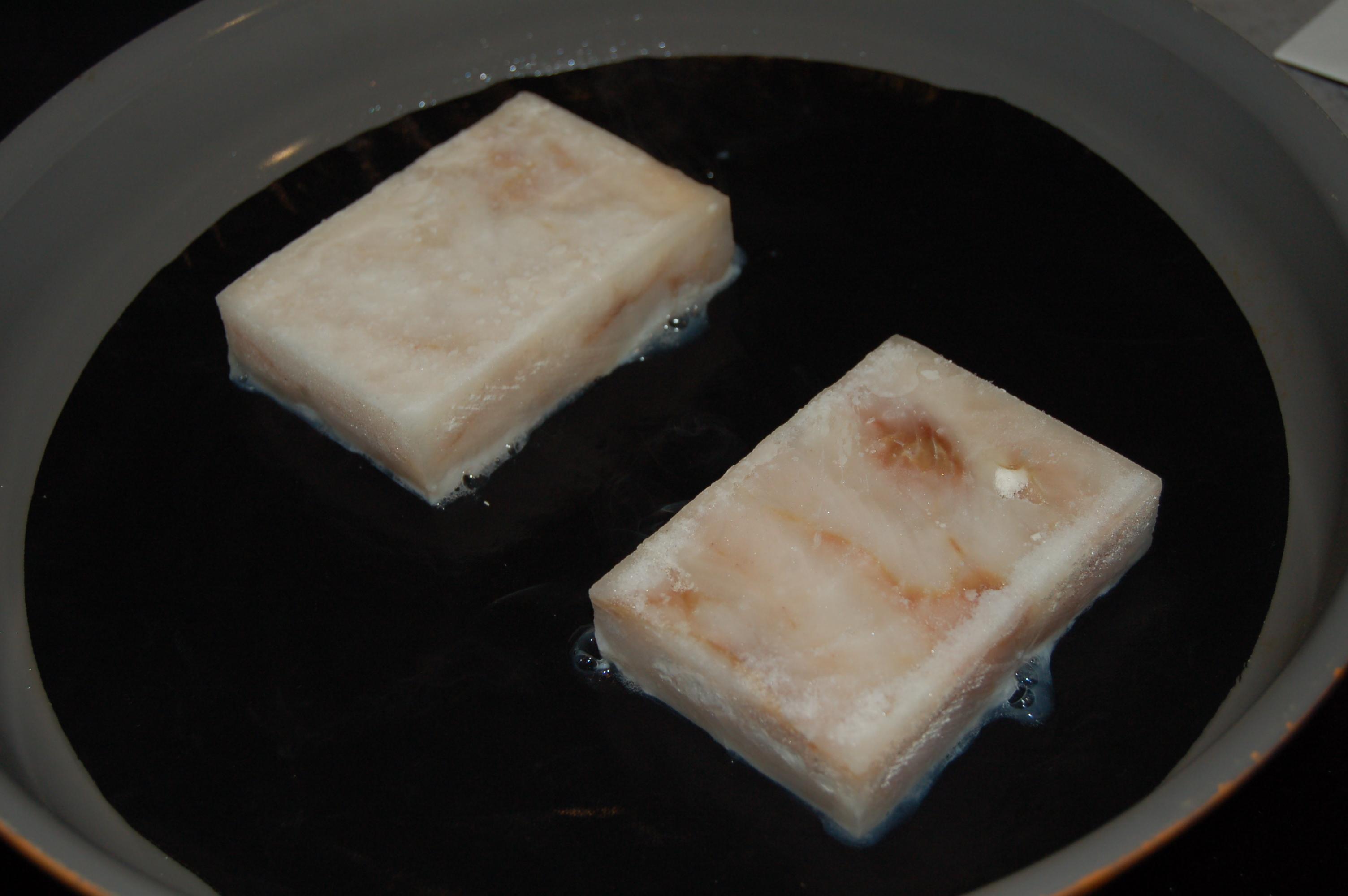 Epinards aux flocons d'avoine